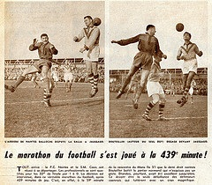 Caen Vs Nantes, 5e match, 1958