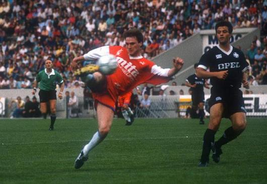 F. Divert, Bordeaux Vs Caen 2-3,1988-1989