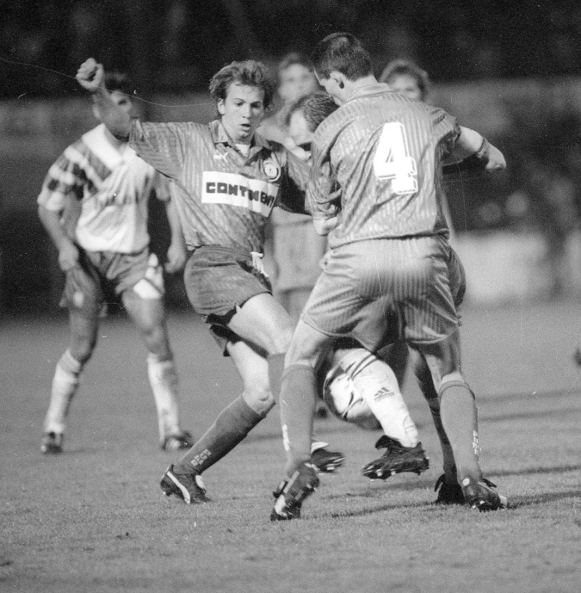 1992-93 Caen Vs Saragosse (3-2) B.Cauet, C.Point