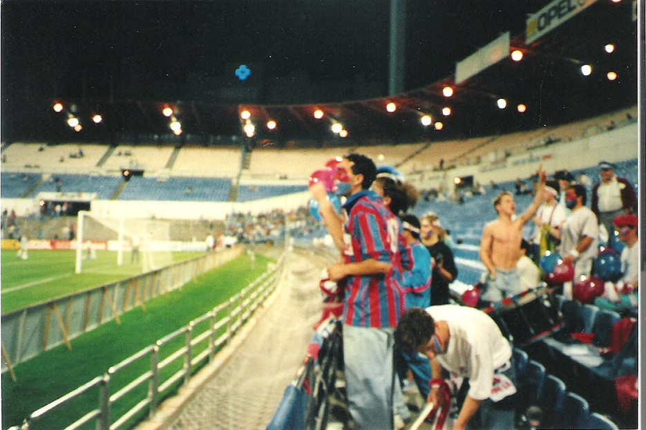 1992-93 Saragosse Vs Caen (2-0). Supporters
