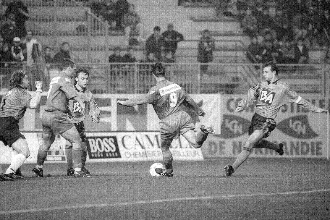 1995-96 Caen Vs Laval (1-2), S.Michel